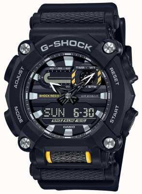 Casio G-шок | сверхмощный | мировое время | черная смола GA-900-1AER