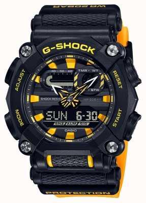 Casio G-шок | сверхмощный | мировое время | желтый GA-900A-1A9ER