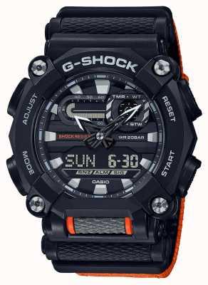 Casio G-шок | сверхмощный | мировое время | апельсин GA-900C-1A4ER