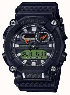 Casio G-шок | сверхмощный | мировое время | чернить GA-900E-1A3ER