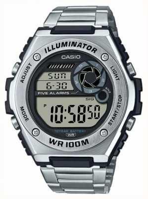 Casio Цифровой | осветитель | нержавеющая сталь | MWD-100HD-1AVEF