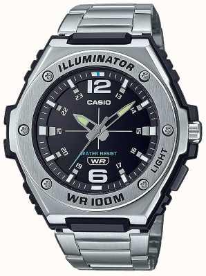 Casio Осветитель | черный циферблат | нержавеющая сталь | MWA-100HD-1AVEF