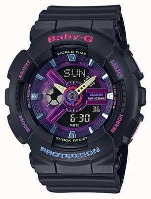 Casio Наручные часы baby-g decora с фиолетовыми деталями BA-110TM-1AER