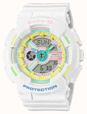 Casio Наручные часы Baby-g decora с радужной деталью BA-110TM-7AER