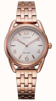 Citizen Женские спортивные IP-часы eco-drive из розового золота FE1213-50A