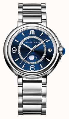 Maurice Lacroix Fiaba moonphase женские кварцевые бриллианты из нержавеющей стали FA1084-SS002-420-1