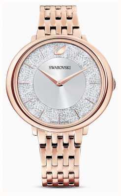 Swarovski Кристаллический | стальной браслет с покрытием из розового золота | блестящий циферблат 5544590