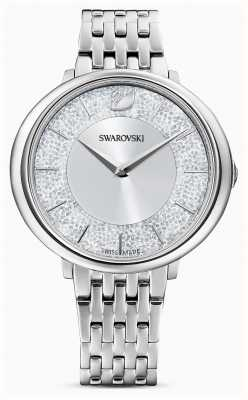 Swarovski Кристаллический | браслет из нержавеющей стали | серебряный блестящий циферблат 5544583