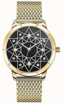 Thomas Sabo | женские | дух космо звездное небо | золотой браслет из сетки | SET_WA0373-275-203-33