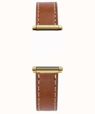 Michel Herbelin Антарес | Харрисон Голд | только сменный ремешок из кожи коричневого цвета (золотой) BRAC.17048.02/P