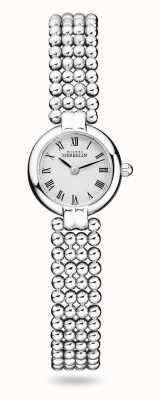 Michel Herbelin Perles | женский браслет из нержавеющей стали | белый циферблат 17433/B08