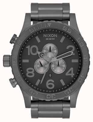 Nixon 51-30 хроно | вся бронза | браслет из бронзовой стали | циферблат из бронзы A083-632-00