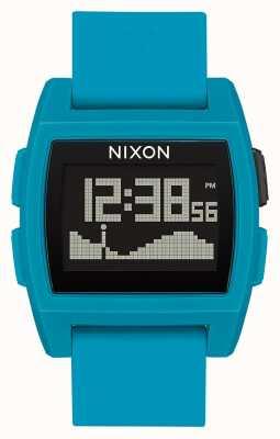 Nixon Базовый прилив   синяя смола   цифровой   синий силиконовый ремешок A1104-2556-00
