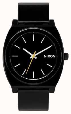 Nixon Счетчик времени р   черный   черный пластиковый ремешок   черный циферблат A119-000-00