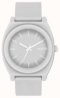 Nixon Счетчик времени р | матовый холодный серый | серый силиконовый ремешок | серый циферблат A119-3012-00