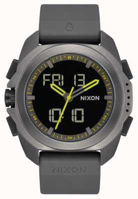 Nixon Рипли | бронза | цифровой | ремешок из тпу темно-серого цвета | A1267-131-00