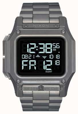 Nixon Regulus ss | бронза | цифровой | браслет из бронзы с IP-покрытием A1268-131-00