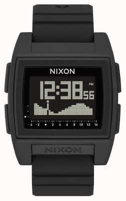Nixon Base tide pro | черный | цифровой | черный силиконовый ремешок | A1307-000-00