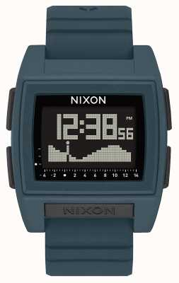 Nixon Base tide pro | темный сланец | цифровой | силиконовый ремешок серого цвета A1307-2889-00