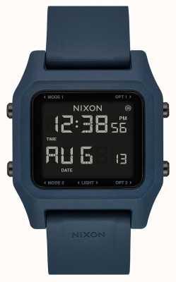 Nixon Скоба | темный сланец | цифровой | силиконовый ремешок серого цвета A1309-2889-00