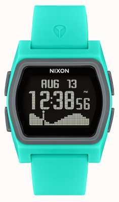 Nixon Соперник | бирюза | цифровой | бирюзовый силиконовый ремешок A1236-309-00