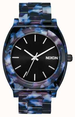 Nixon Счетчик времени ацетат | черный / мульти | черный циферблат A327-2336-00