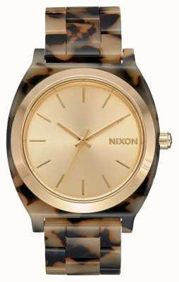Nixon Счетчик времени ацетат | кремовая черепаха | кремовый циферблат A327-3346-00