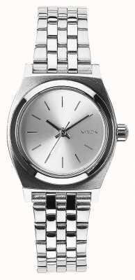 Nixon Кассирша | все серебро | браслет из нержавеющей стали серебряный циферблат A399-1920-00