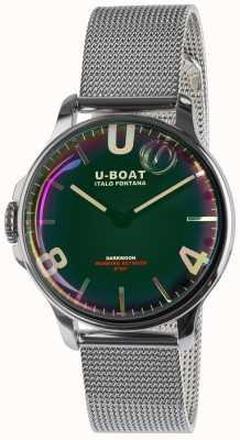U-Boat Браслет из нержавеющей стали Darkmoon 38 мм, черный 8471/MT