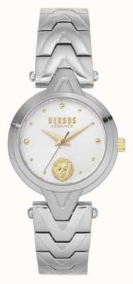 Versus Versace | женские | v_versus forlanini | браслет из нержавеющей стали | серебряный циферблат | VSPVN0620