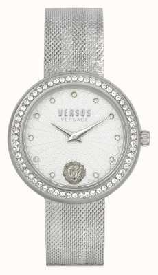Versus Versace | женские | леа | нержавеющая сталь | сетчатый браслет | серебряный циферблат | VSPEN1420