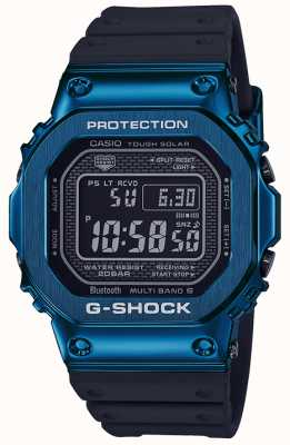 Casio G-Shock Blue Tough Solar Blue с покрытием IP GMW-B5000G-2ER
