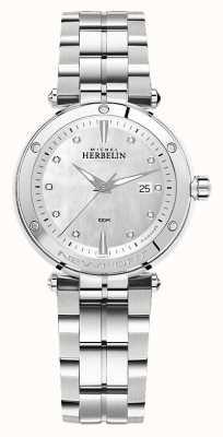 Michel Herbelin Ньюпорт | женский браслет из нержавеющей стали 14288/B89
