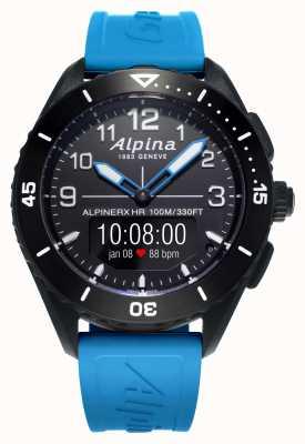 Alpina | альпинеркс жив | синий каучуковый ремешок | AL-284LBBW5AQ6