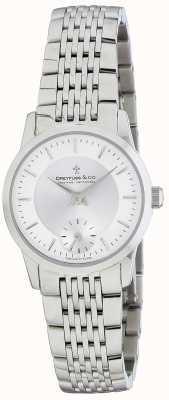 Dreyfuss Женские серебряные часы с браслетом из нержавеющей стали DLB00001/02