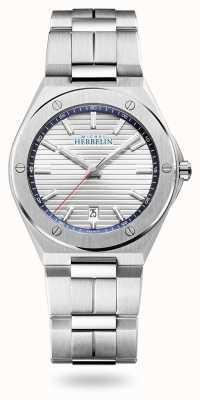 Michel Herbelin Кепка камарат | серебряный циферблат | браслет из нержавеющей стали 12245/B42