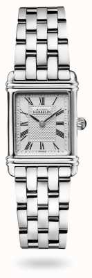 Michel Herbelin Арт-деко   браслет из нержавеющей стали   серебряный циферблат 17478/08B2