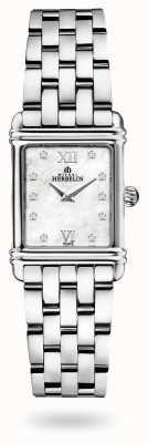 Michel Herbelin Арт-деко | браслет из нержавеющей стали | перламутровый циферблат 17478/59B2
