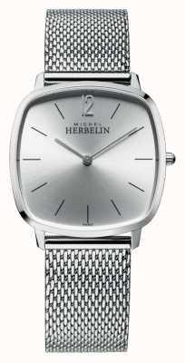 Michel Herbelin Город | серебряный циферблат | браслет из нержавеющей стали 16905/11B