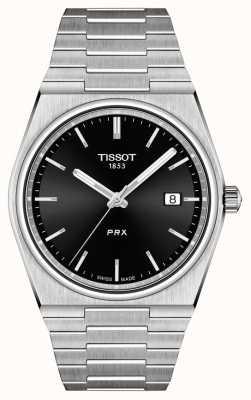 Tissot Мужской кварцевый черный циферблат prx 40 мм T1374101105100