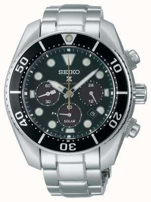 Seiko Часы с хронографом «сумо» ограниченной серии prospex «island green» с солнечным хронографом SSC807J1