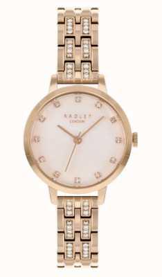 Radley | женские | браслет с покрытием из розового золота | белый циферблат | RY4560