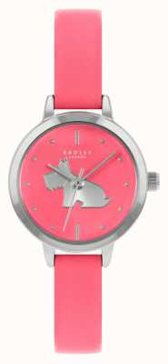 Radley Женский ярко-розовый кожаный ремешок | розовый циферблат RY21253A