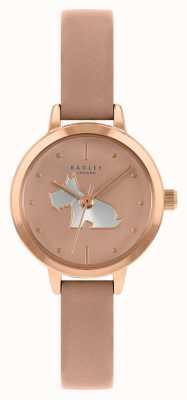 Radley Женский кожаный ремешок розового цвета | розовый циферблат RY21254A