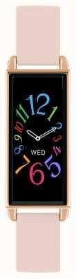 Reflex Active Умные часы Series 2 | цветной сенсорный экран | розовый кожаный ремешок RA02-2006