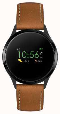 Reflex Active Умные часы Series 4 | цветной сенсорный экран | коричневый ремешок RA04-1000