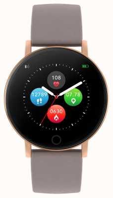 Reflex Active Умные часы Series 5 | hr монитор | цветной сенсорный экран | серо-коричневый ремешок RA05-2034