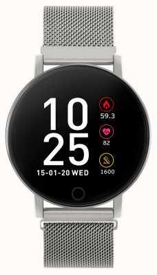 Reflex Active Умные часы Series 5 | hr монитор | цветной сенсорный экран | стальная сетка RA05-4015