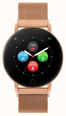 Reflex Active Умные часы Series 5 | hr монитор | цветной сенсорный экран | стальная сетка из розового золота RA05-4016