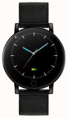 Reflex Active Умные часы Series 5 | hr монитор | цветной сенсорный экран | черная ip стальная сетка RA05-4024